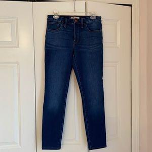 Madewell Road Tripper skinny jeans